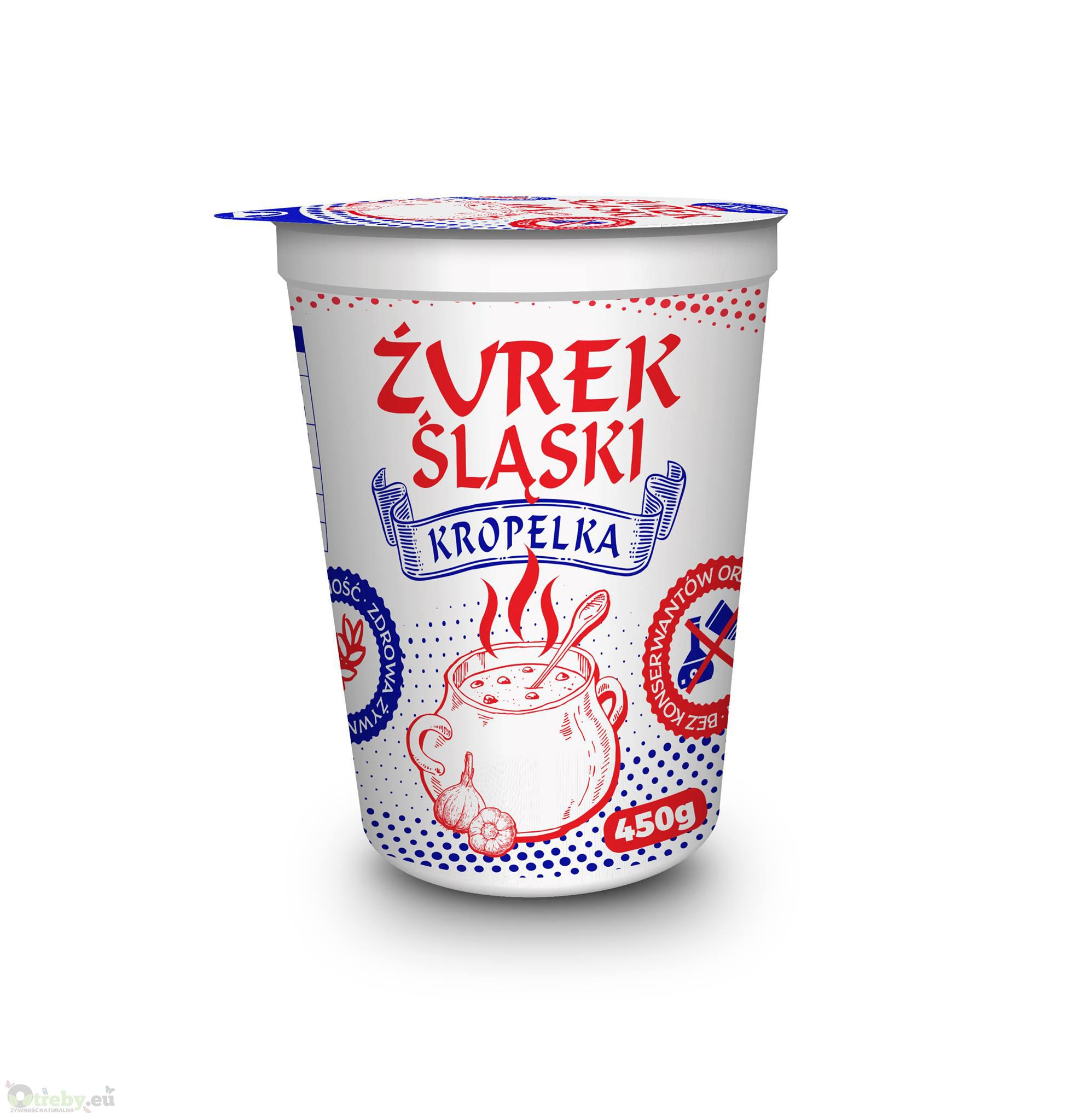 ŻUREK ŚLĄSKI KUBEK 450 G KROPELKA